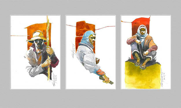 Kargada Series Studies 1