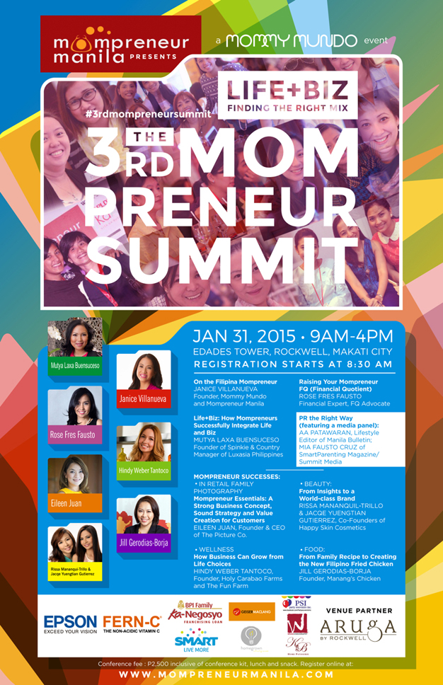 The 3rd MOMPRENEUR SUMMIT Poster Final LR-2